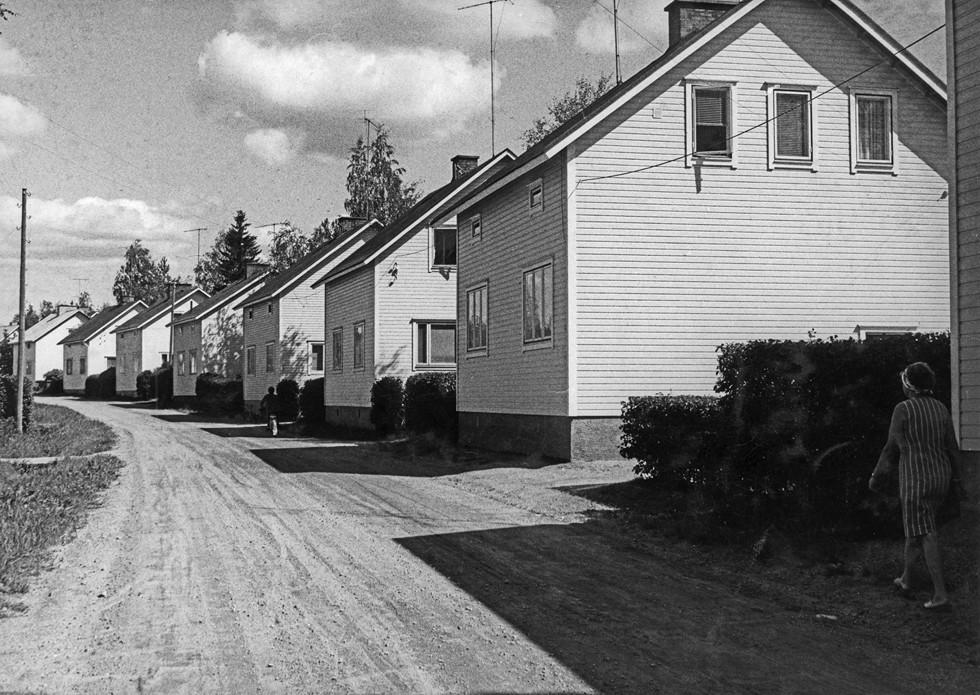 Domy weteranów wojennych w Pieksämäki