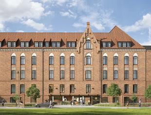 Adaptacja dawnego szpitala na hotel w Gdańsku