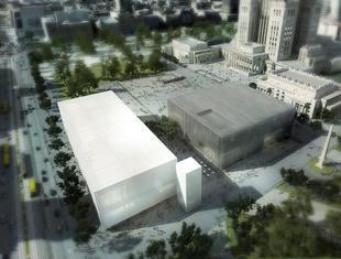 Muzeum Sztuki Nowoczesnej z pozwoleniem na budowę