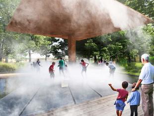 Park z bajerami według medusagroup